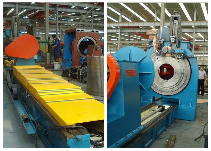 650 mm diameter Profile Wire Screen Welding Machine Wedge Wire Screen Machine