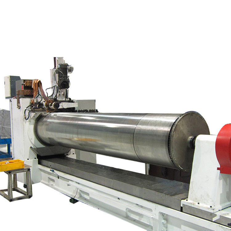V Johnson Water Well Screens Wire Mesh Manufacturing Machine Servo Motor Drive
